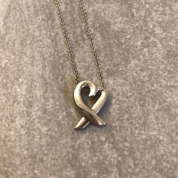 Tiffany & Co. Jewelry - 💯 authentic Tiffany & Co. Loving Heart pendant